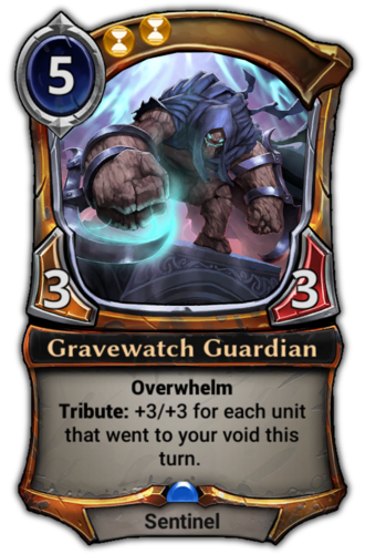 Gravewatch Guardian card