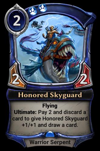 Honored Skyguard card