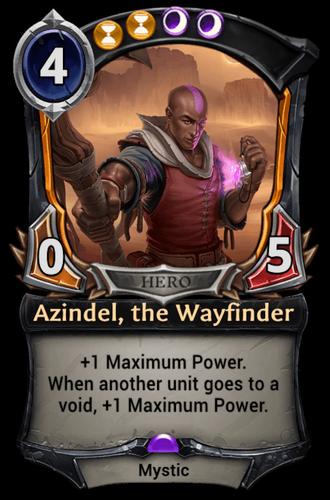 Azindel, the Wayfinder card