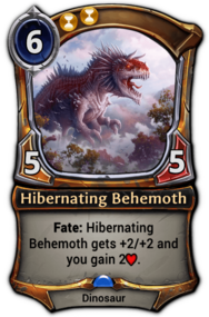 Hibernating Behemoth