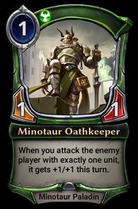 Minotaur Oathkeeper