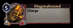 Magmahound Token