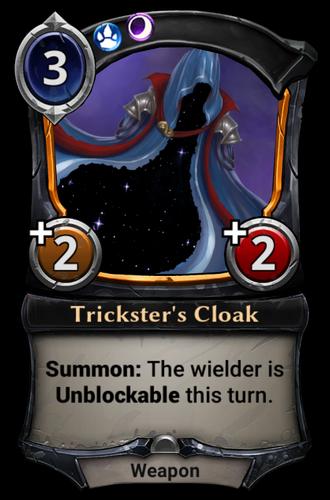 Trickster's Cloak card
