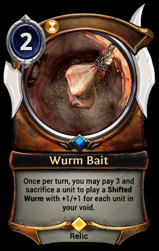 Wurm Bait card