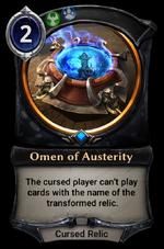 Omen of Austerity