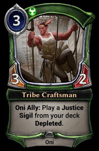 Tribe Craftsman card