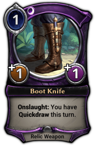 Boot Knife card