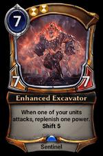 Enhanced Excavator