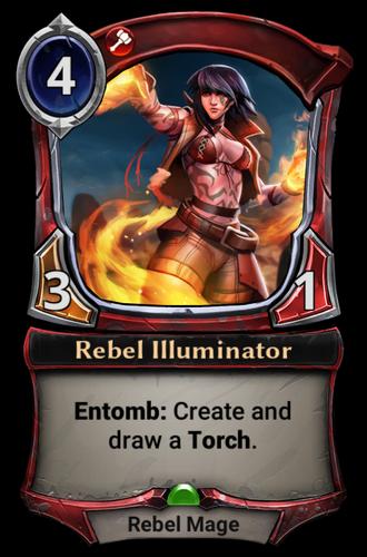 Rebel Illuminator card