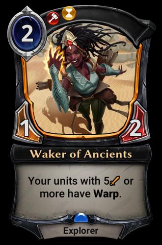 Waker of Ancients card