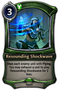 Resounding Shockwave