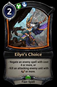 Eilyn's Choice