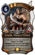 Gnash, Desert Prince