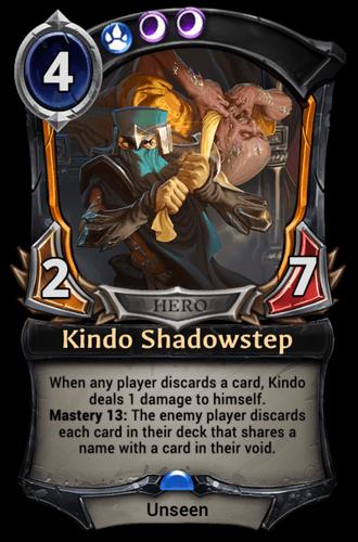 Kindo Shadowstep card
