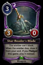 Star-Reader's Blade