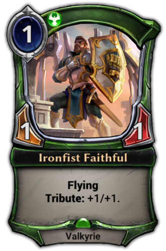 Ironfist Faithful card