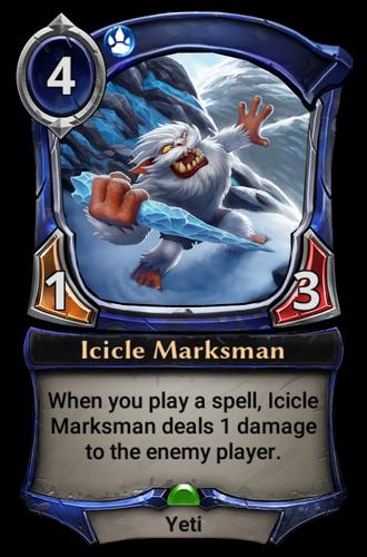 Icicle Marksman card