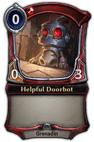 Helpful Doorbot