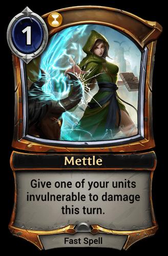 Mettle card