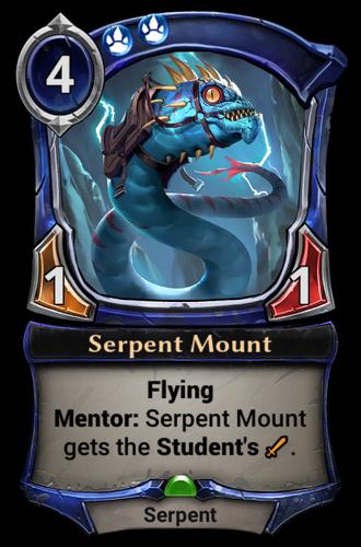 Serpent Mount card