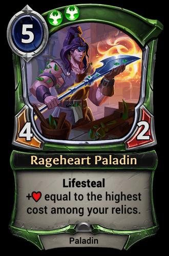 Rageheart Paladin card