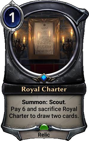Royal Charter card