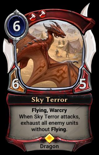 Sky Terror card