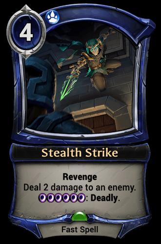 Stealth Strike card