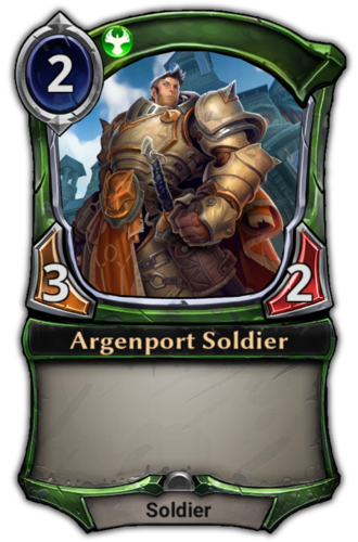 Argenport Soldier card