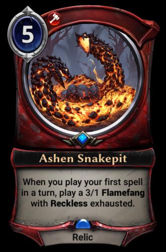 Ashen Snakepit card
