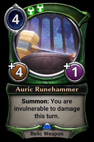 Auric Runehammer card