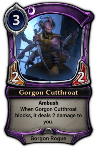 Gorgon Cutthroat card