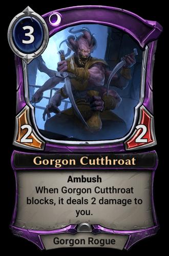 Gorgon Cutthroat card