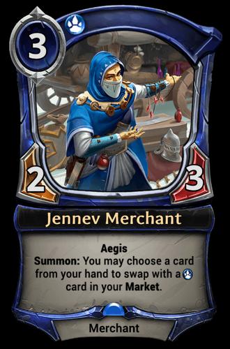 Jennev Merchant card