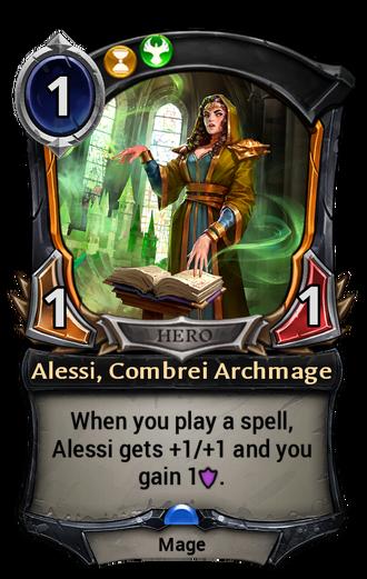 Alessi, Combrei Archmage card