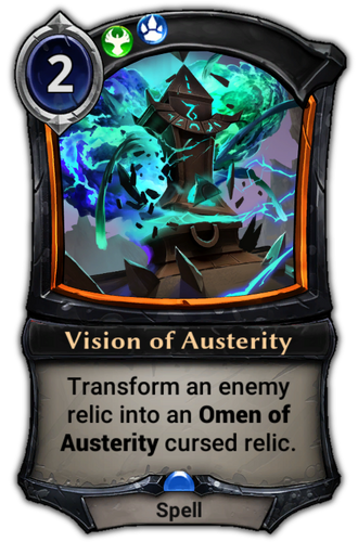 Vision of Austerity card