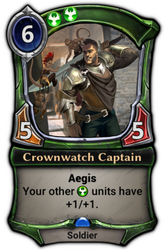 Crownwatch Captain card
