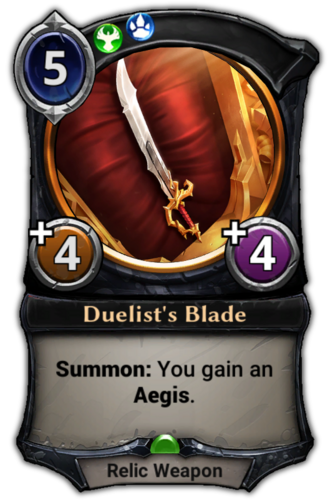Duelist's Blade card