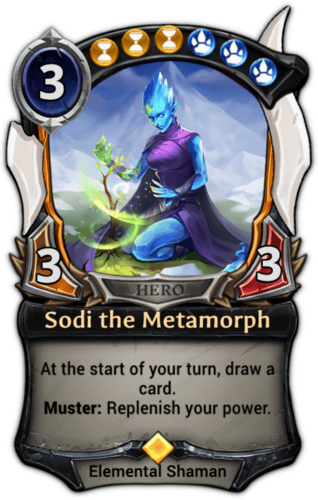 Sodi the Metamorph card