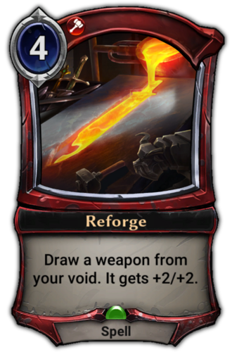 Reforge card