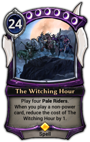 The Witching Hour card