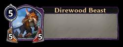 Direwood Beast Token