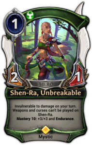Shen-Ra, Unbreakable