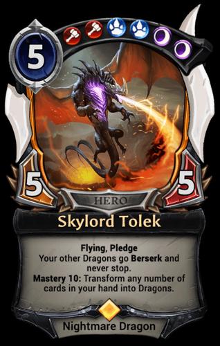 Skylord Tolek card