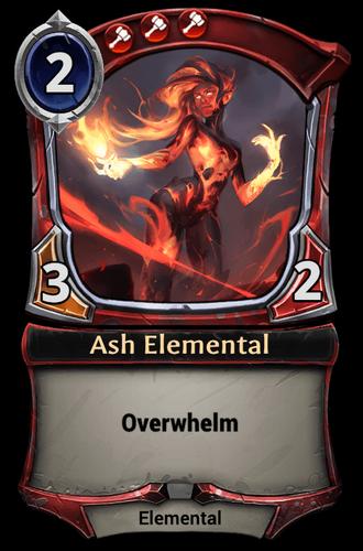 Ash Elemental card