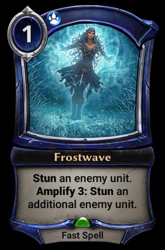 Frostwave card