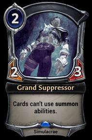 Grand Suppressor