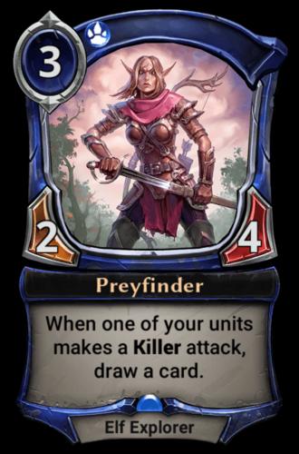 Preyfinder card