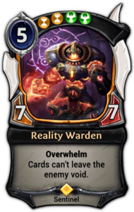 Reality Warden
