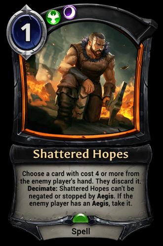 Shattered Hopes card